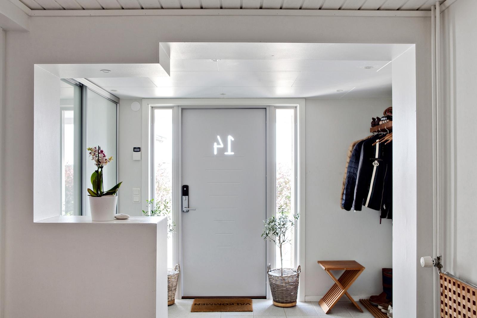 входная дверь коридор