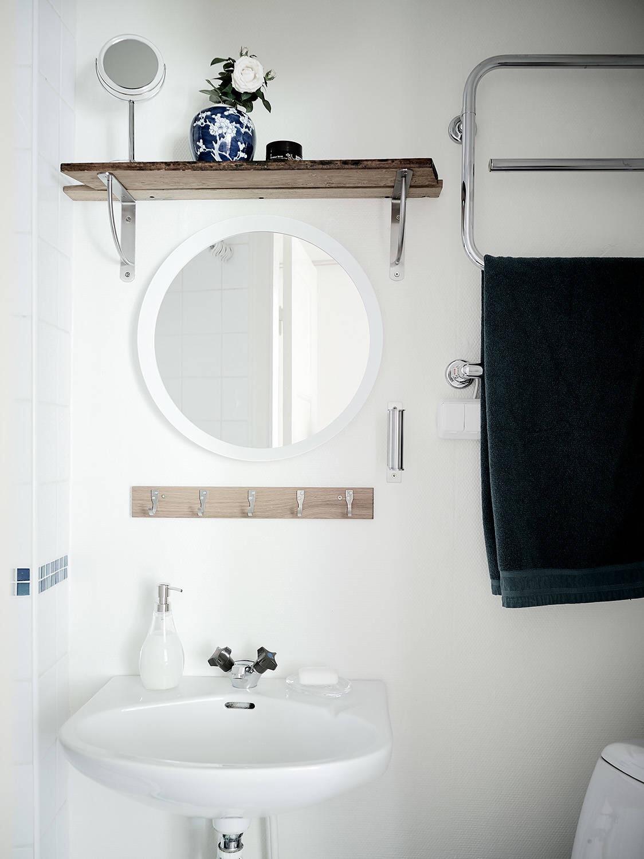 санузел раковина зеркало