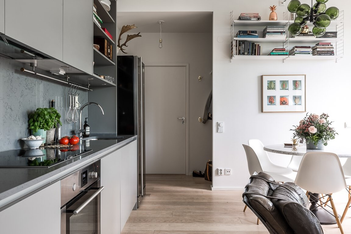 кухня прихожая входная дверь