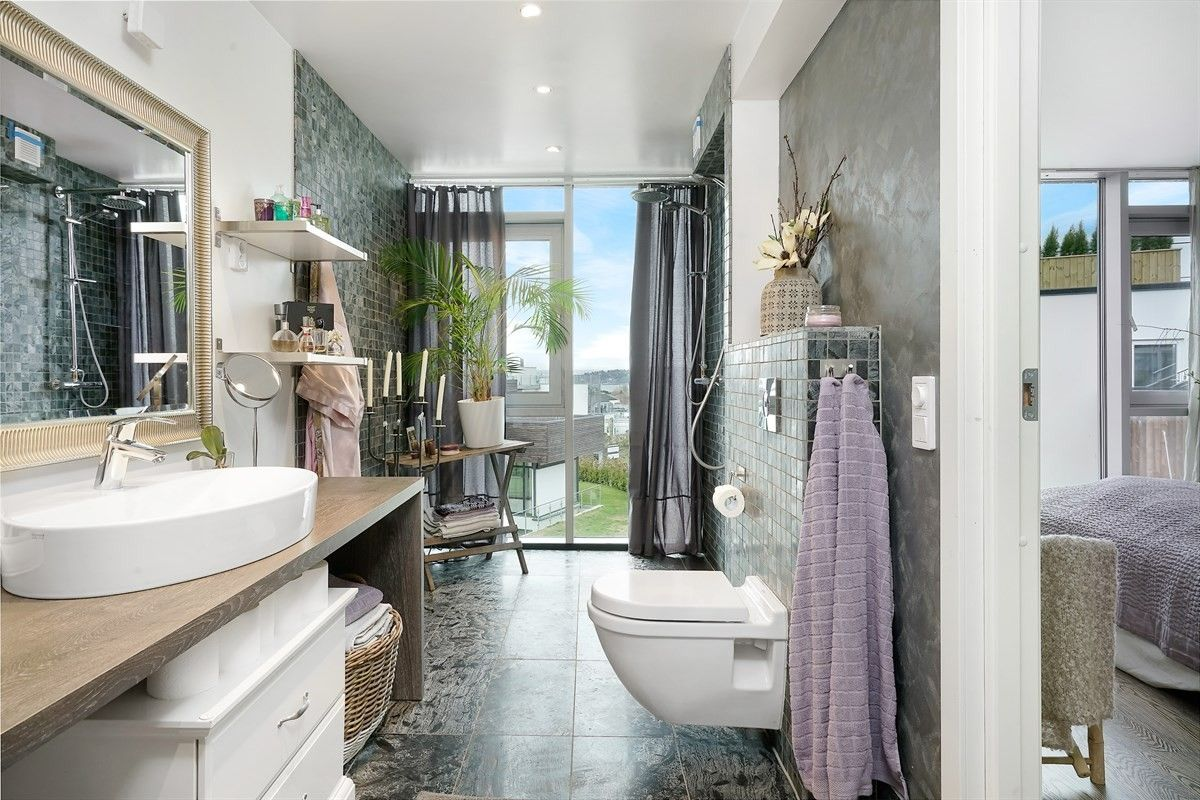 ванная комната душ раковина