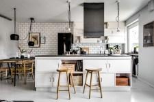 кухня кухонный остров плита вытяжка