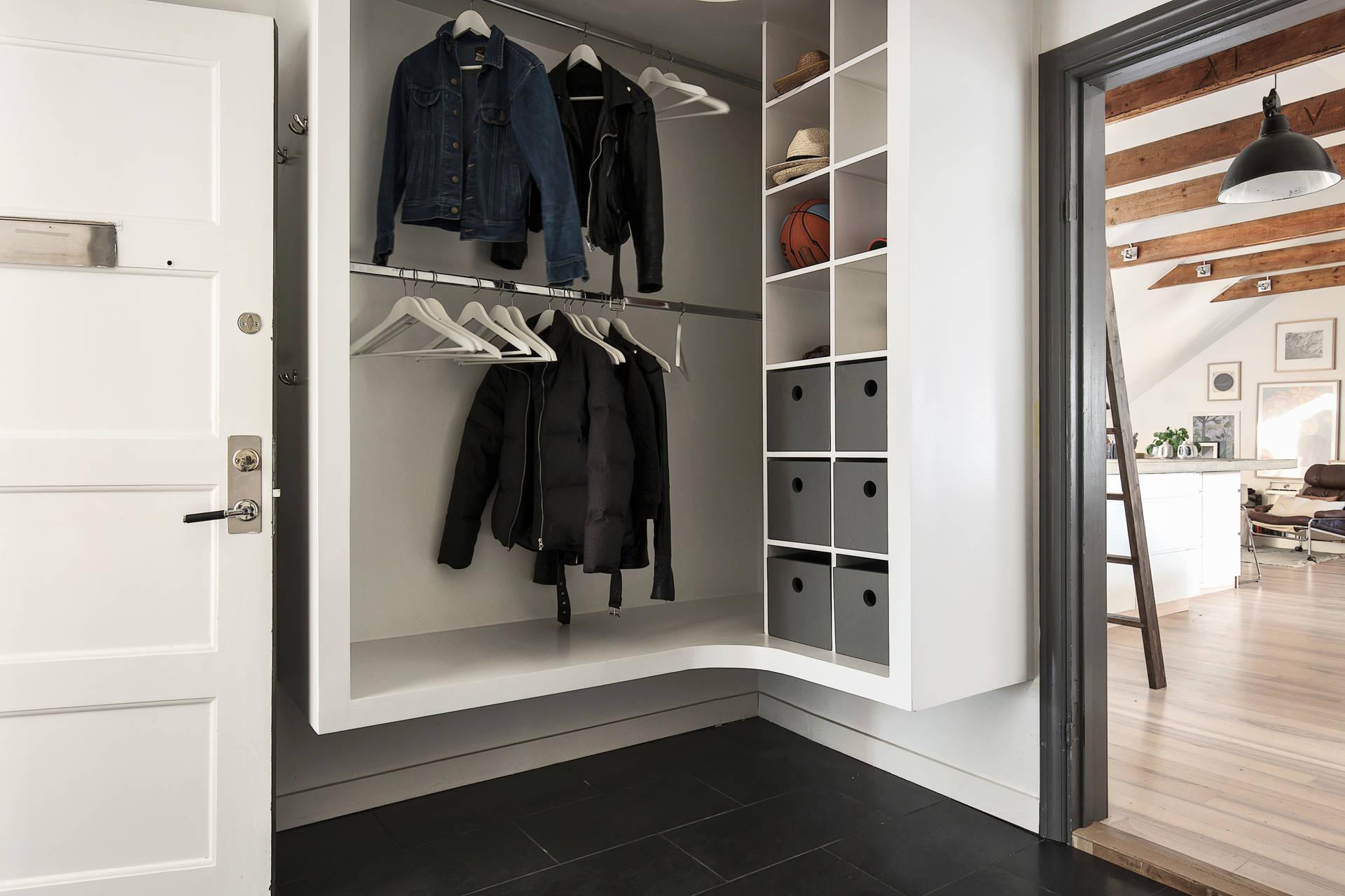 прихожая одежда шкаф