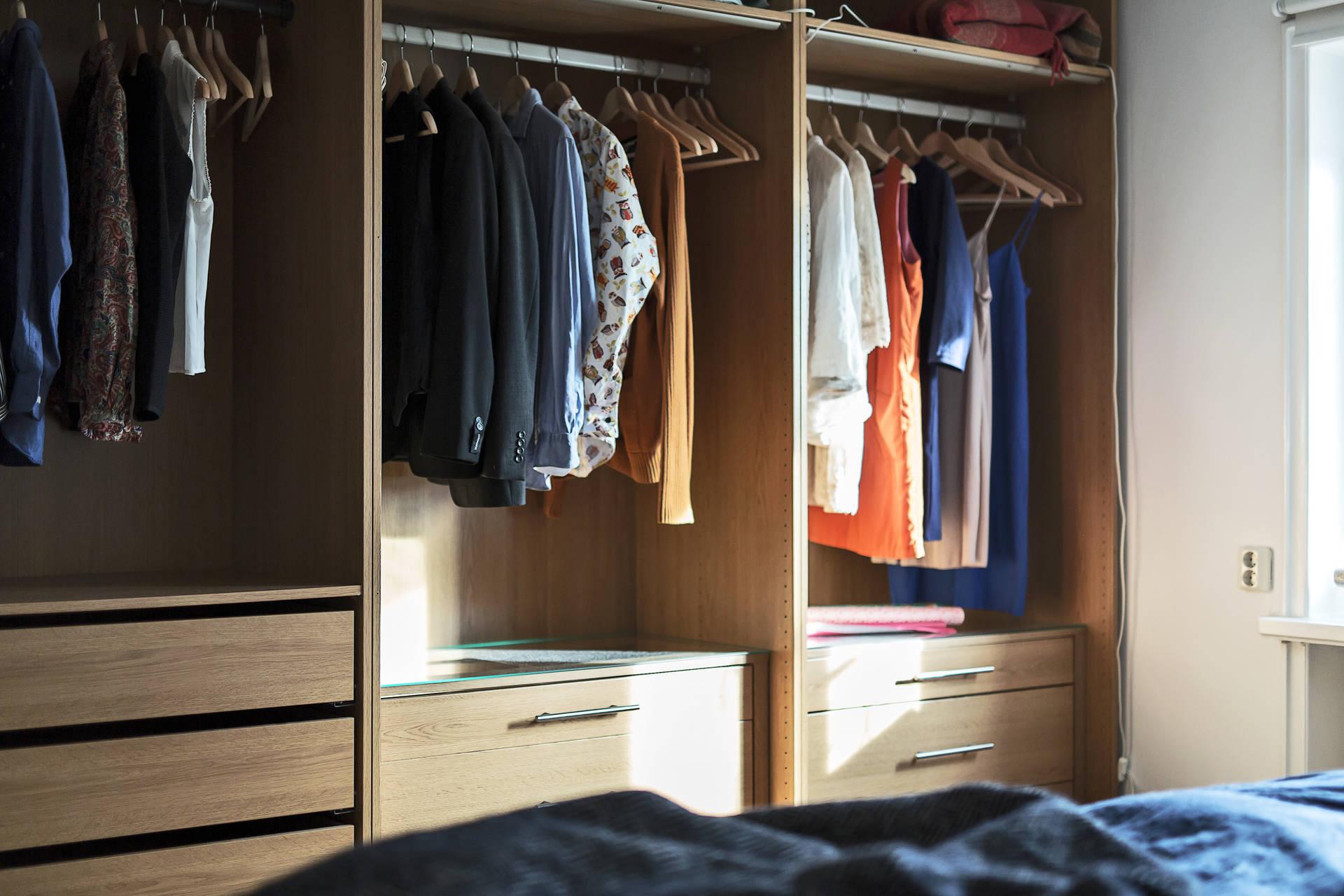 спальня шкаф одежда