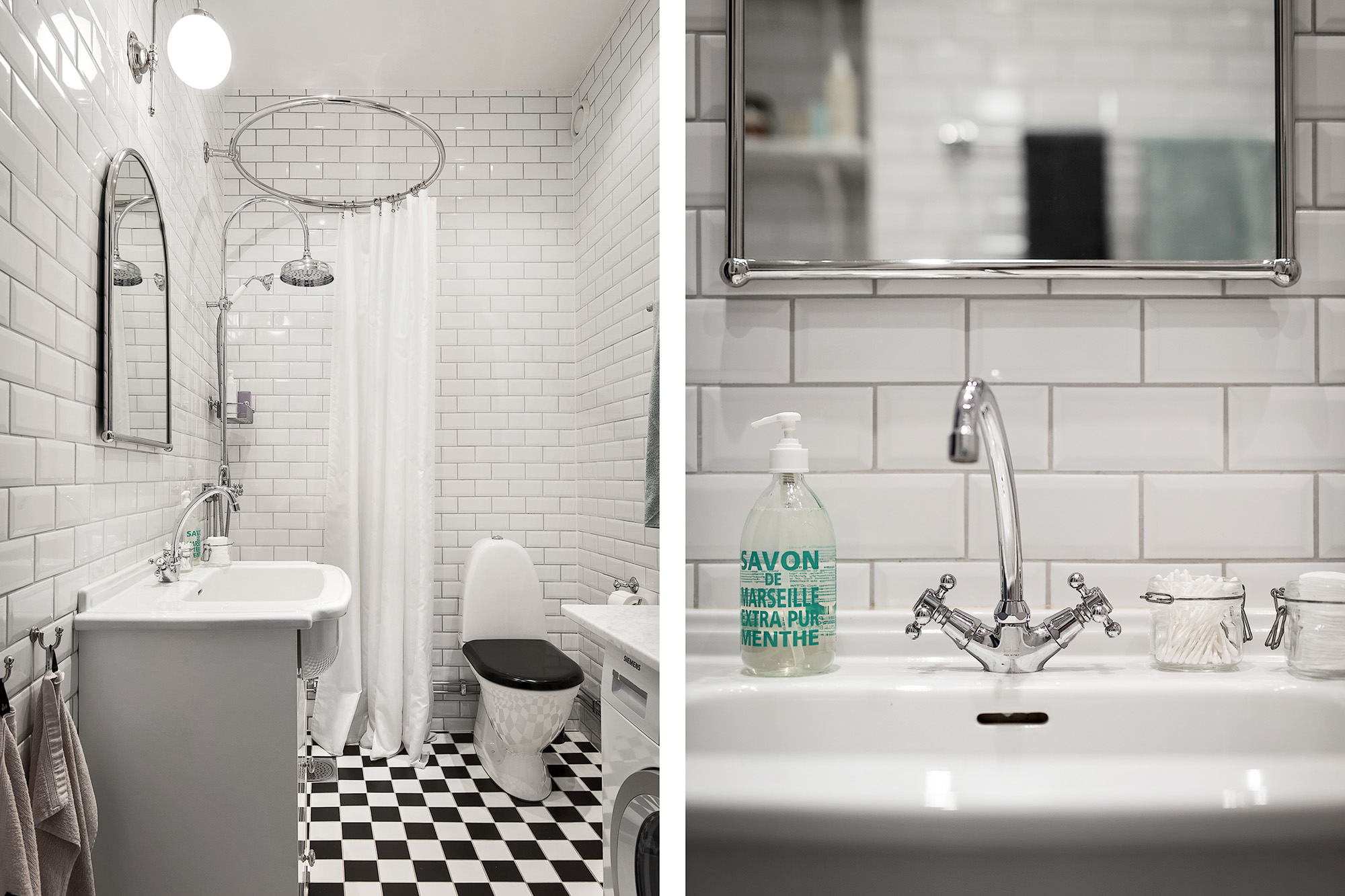 санузел душ раковина зеркало смеситель плитка