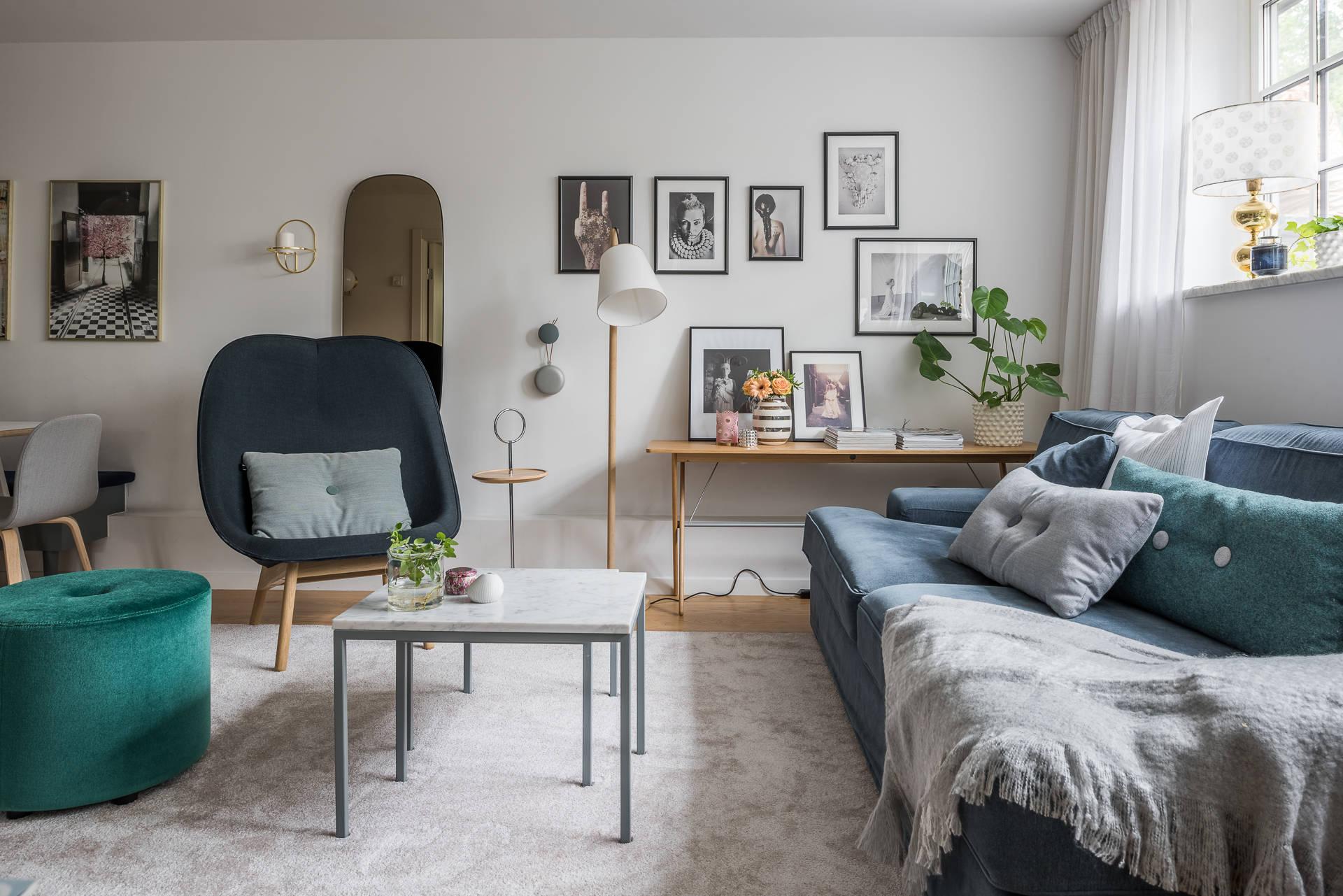 гостиная диван столик ковер