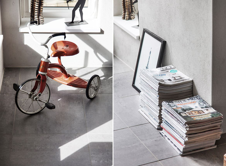 детский велосипед ретро