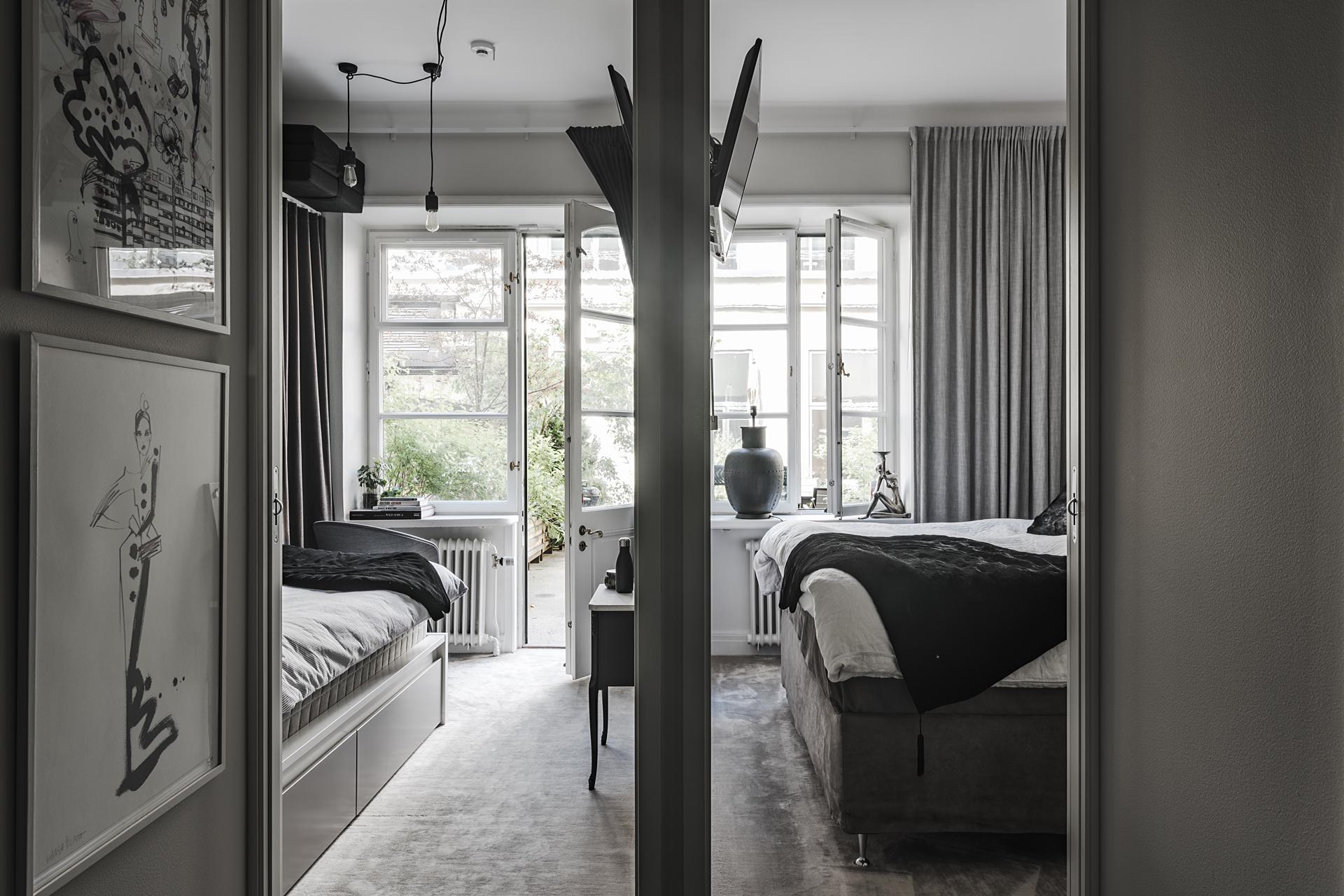 коридор спальни