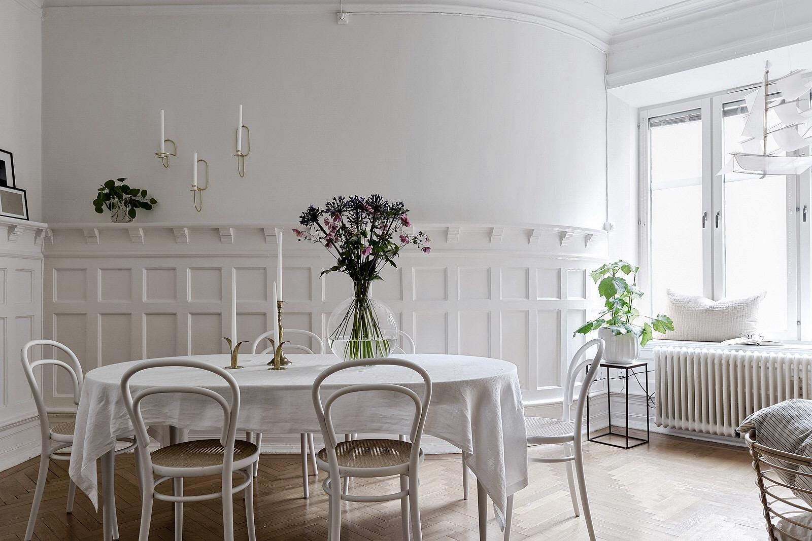стеновые панели обеденный стол