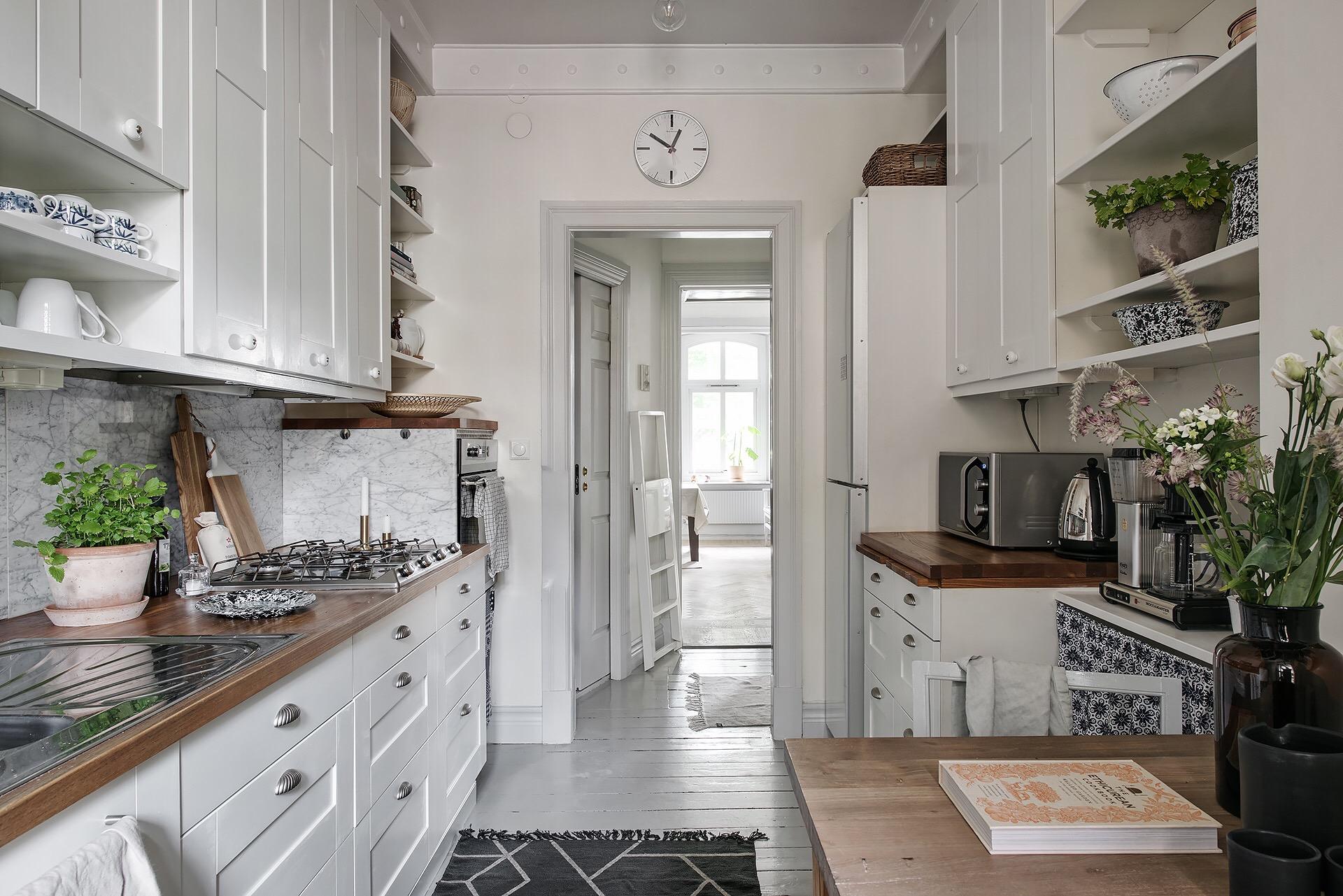 кухня коридор