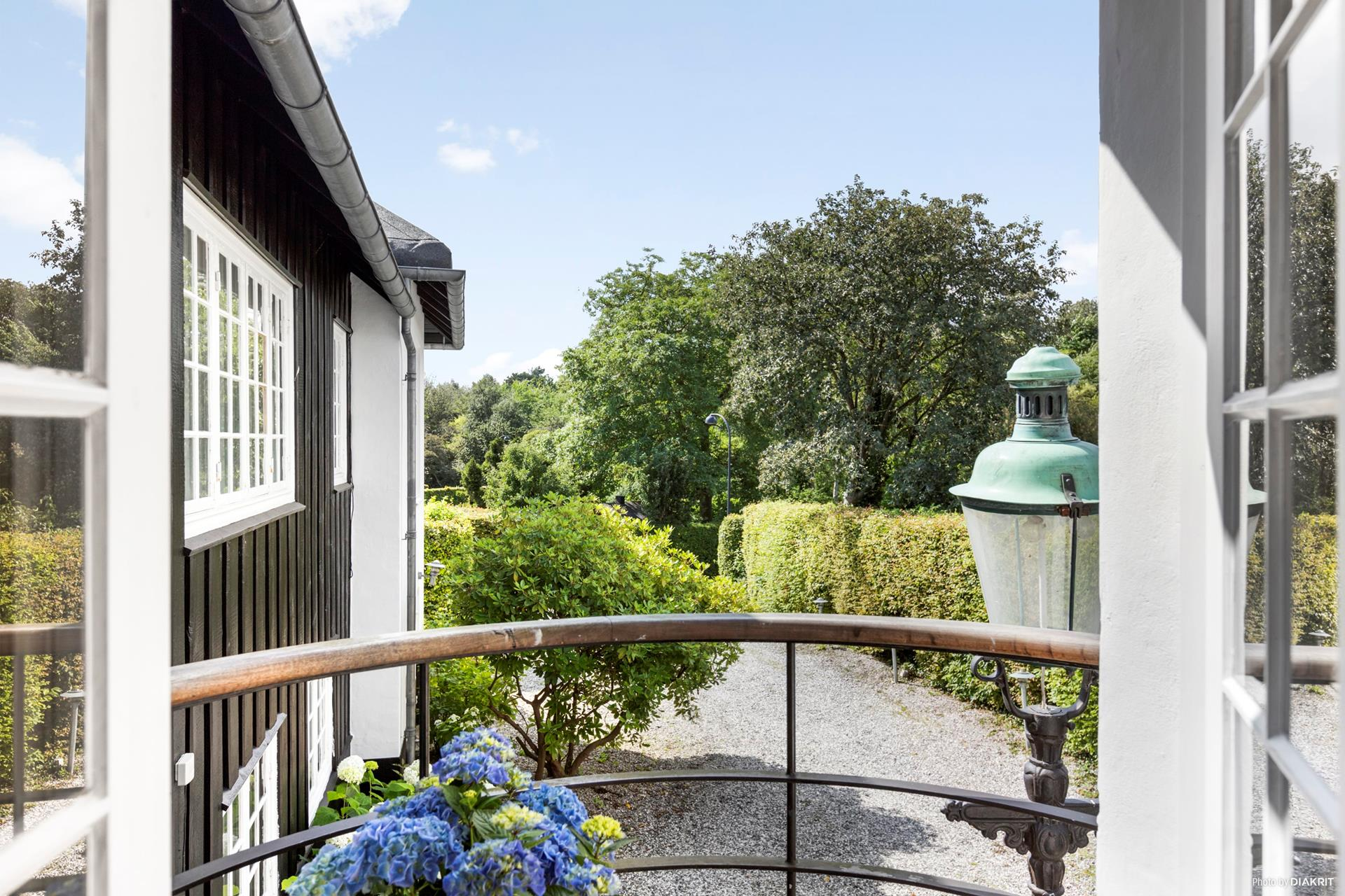 балкон садовая дорожка