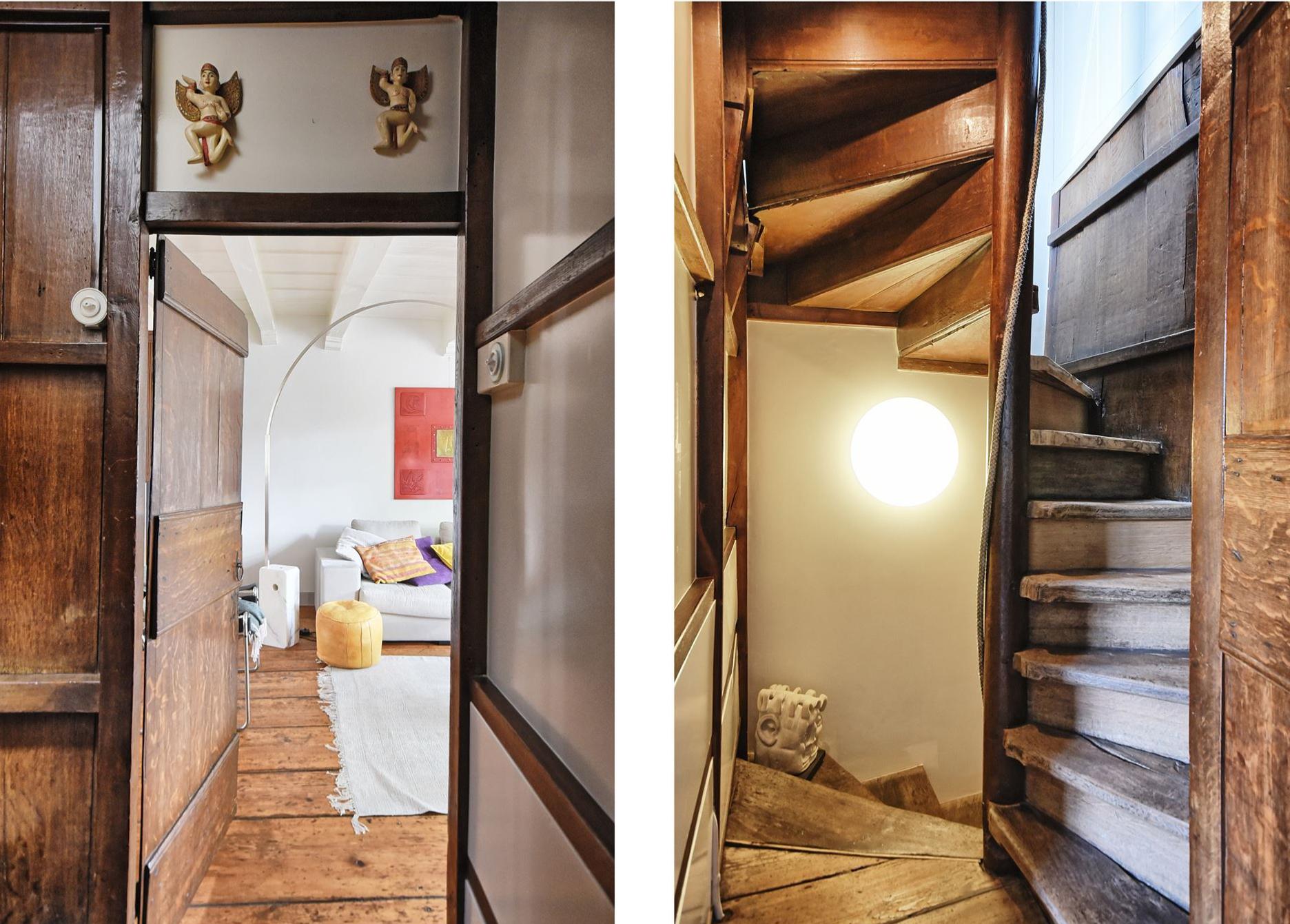 лестница вход в гостиную