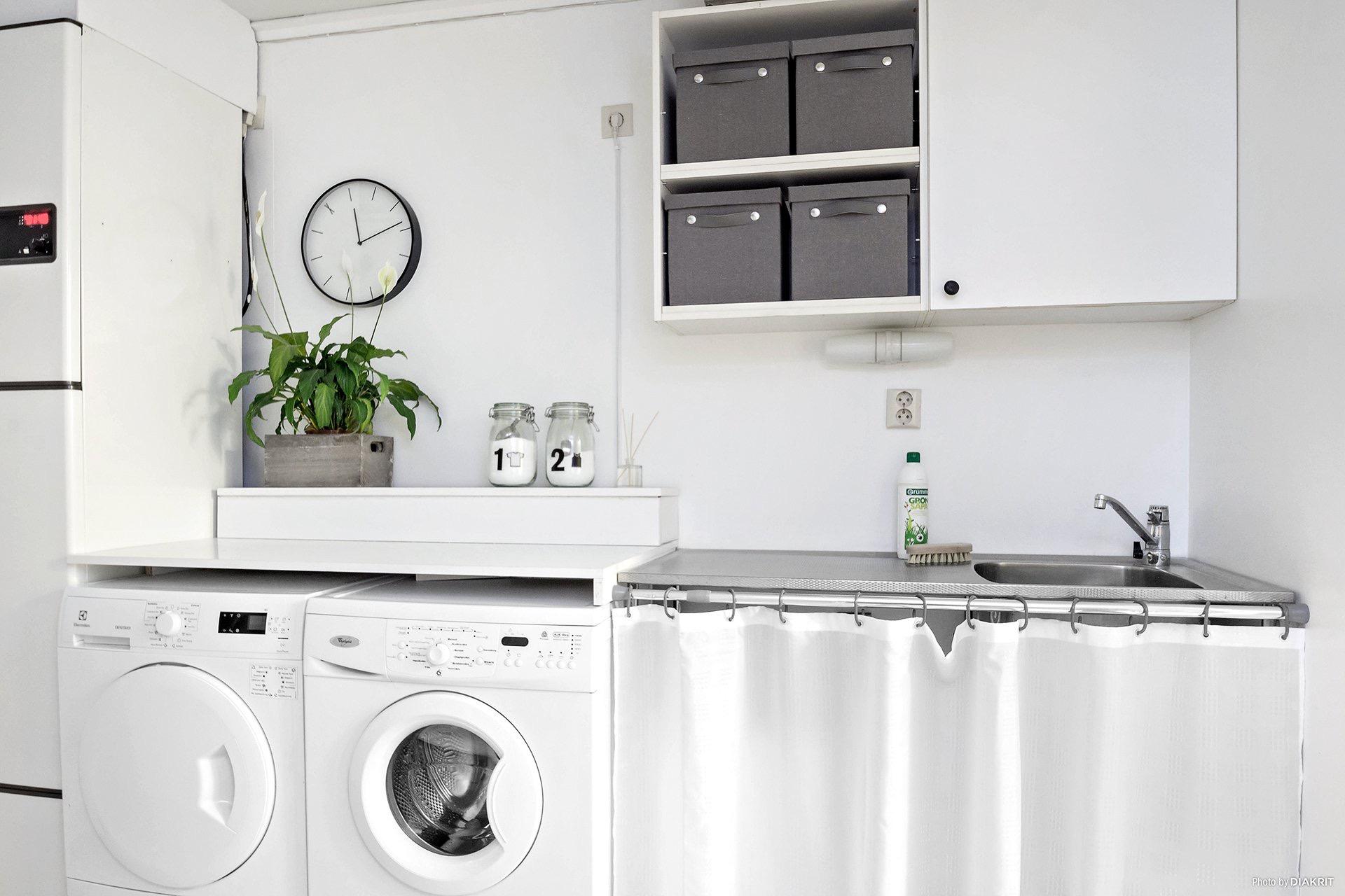 домашняя прачечная стиральная сушильная машина
