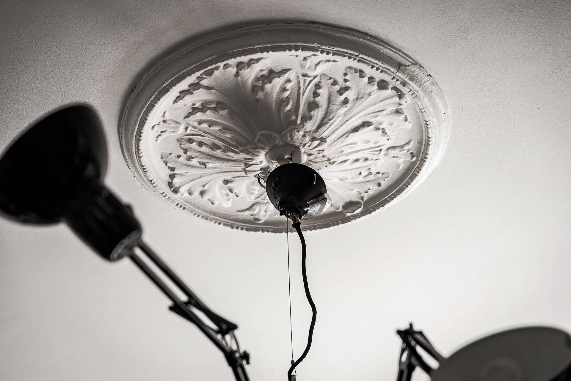 потолочная розетка лампа Dear Ingo