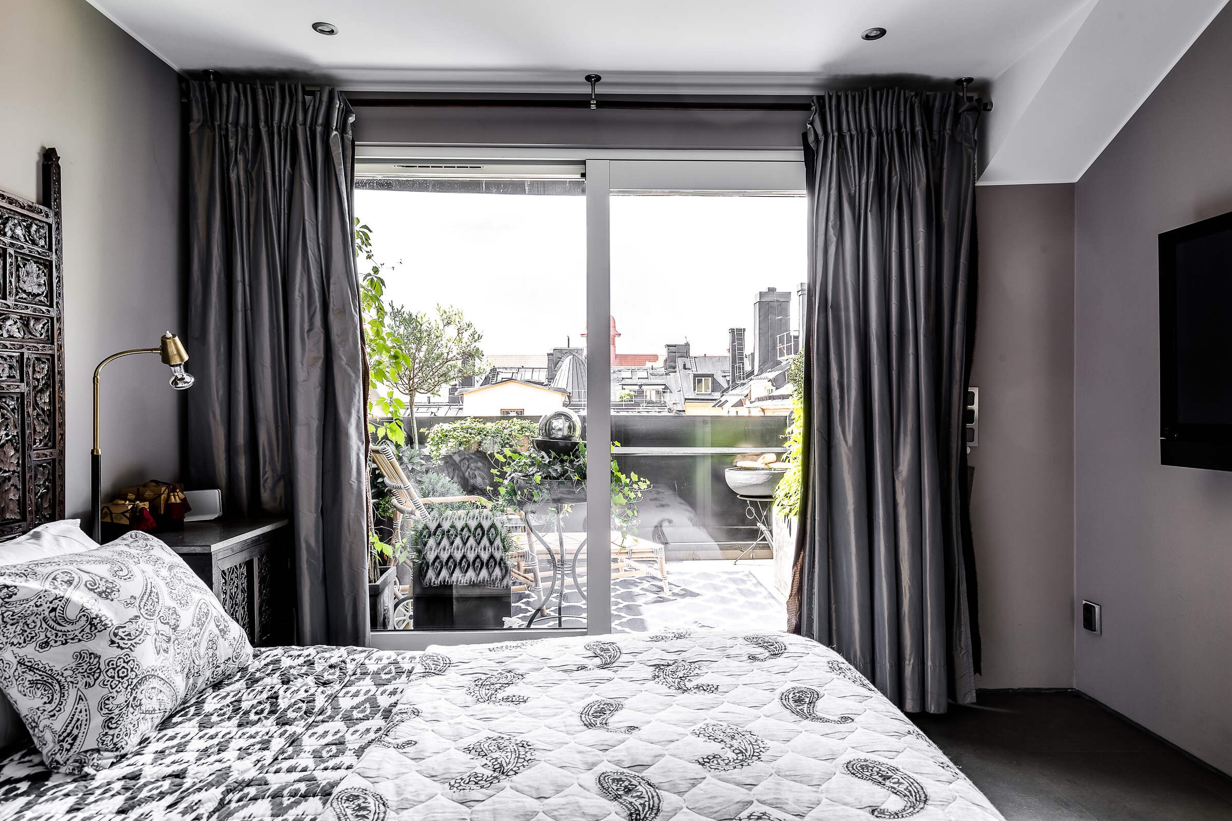 спальня выход на террасу