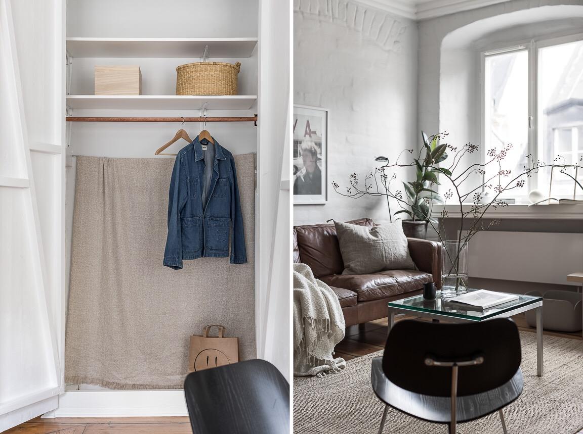 ниша для хранения одежды