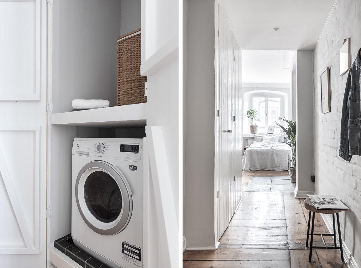 коридор шкаф ниша стиральная машина