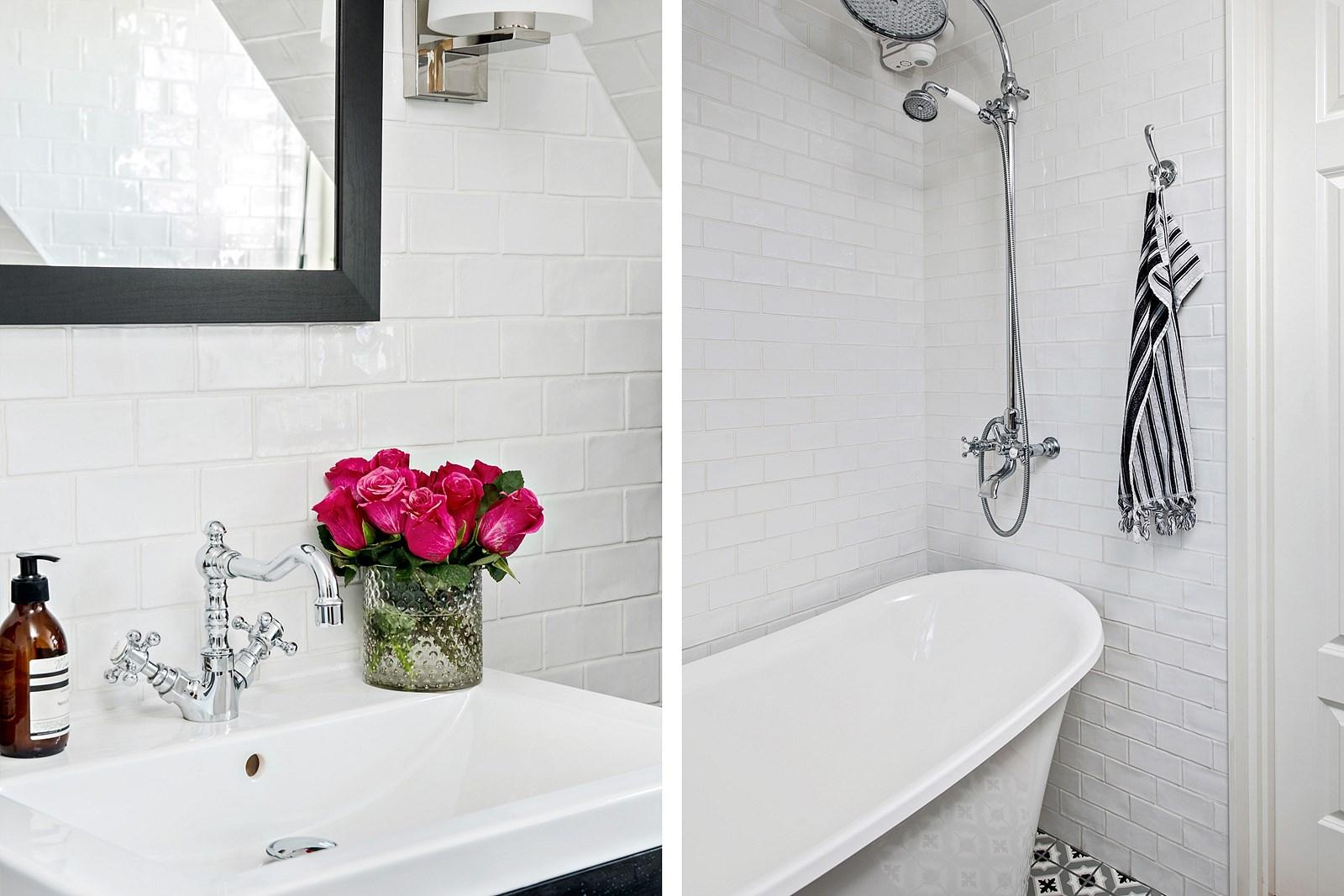 санузел ванная комната плитка кабанчик ретро ванна душ раковина смеситель