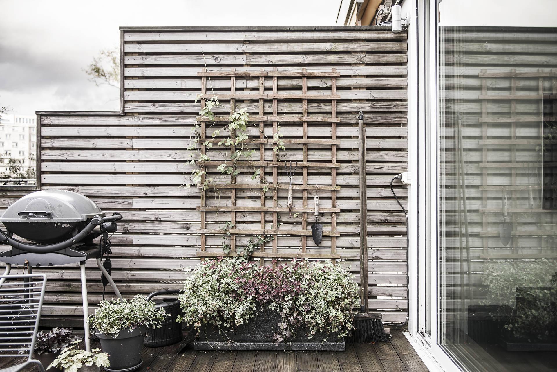 ограждение террасы балкона