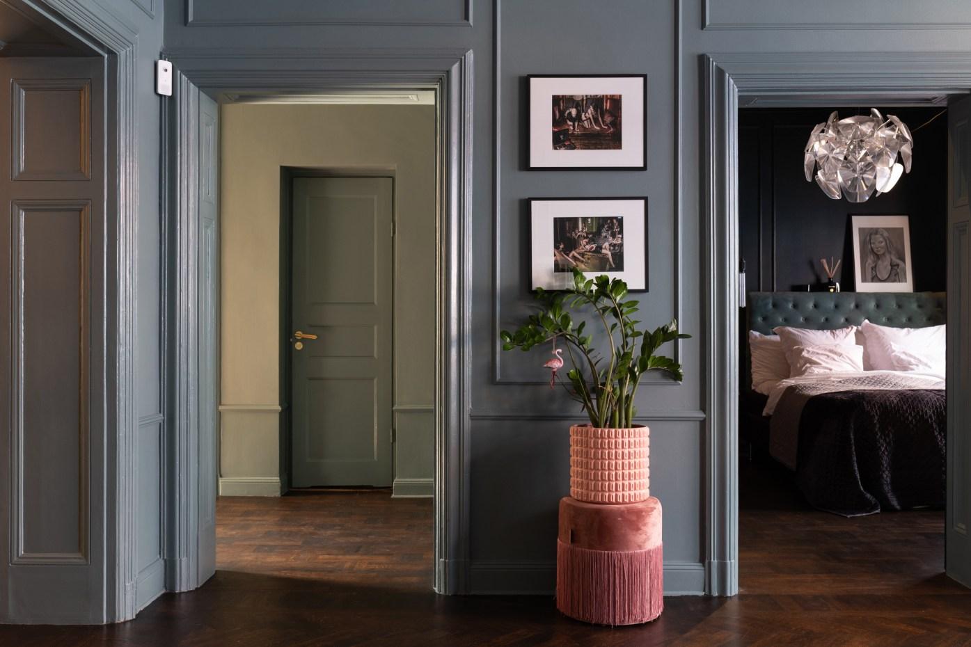 коридор спальня