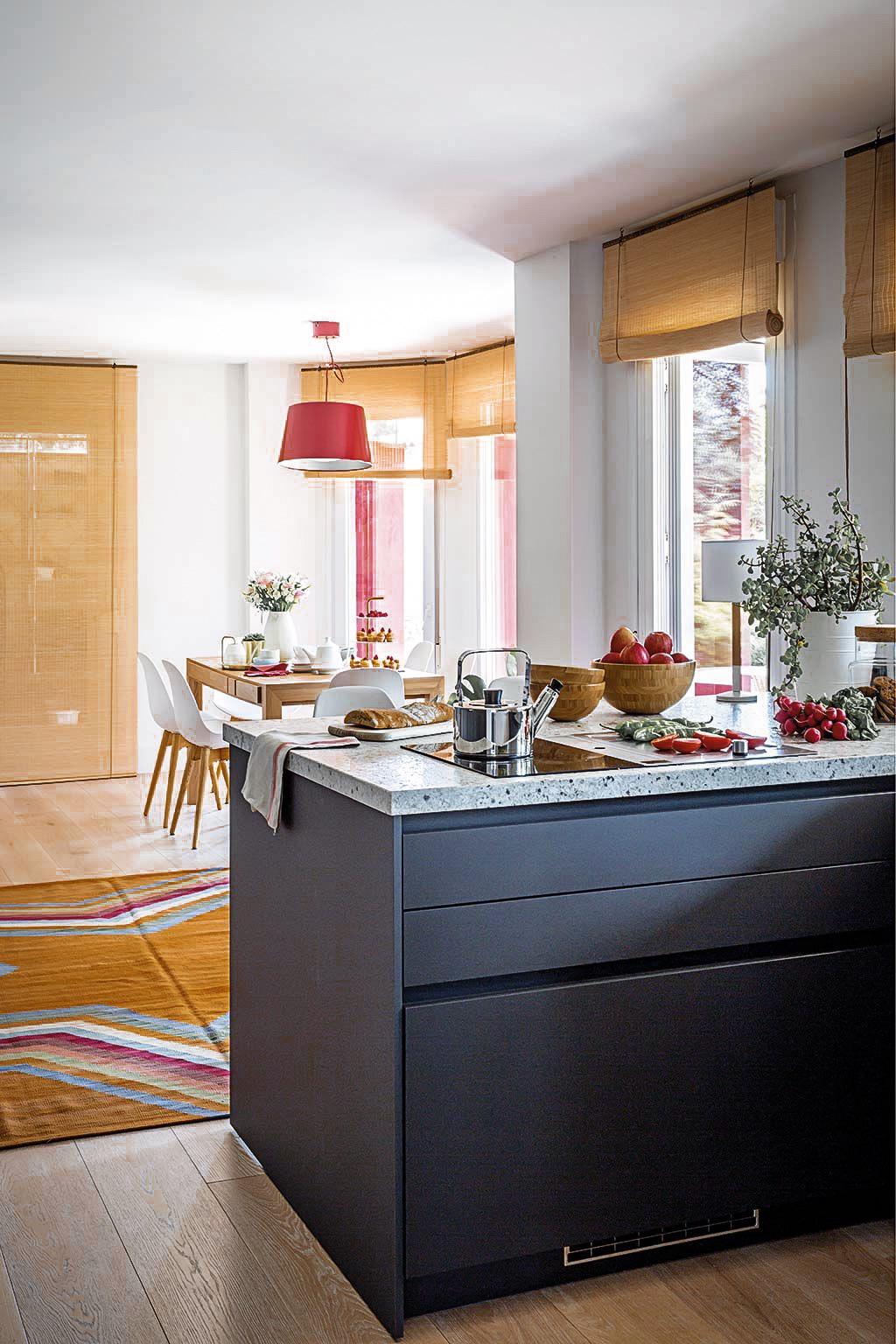 кухонный остров столовая