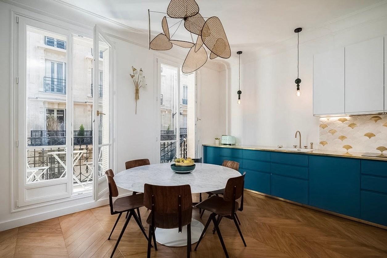 кухня столовая обеденный стол