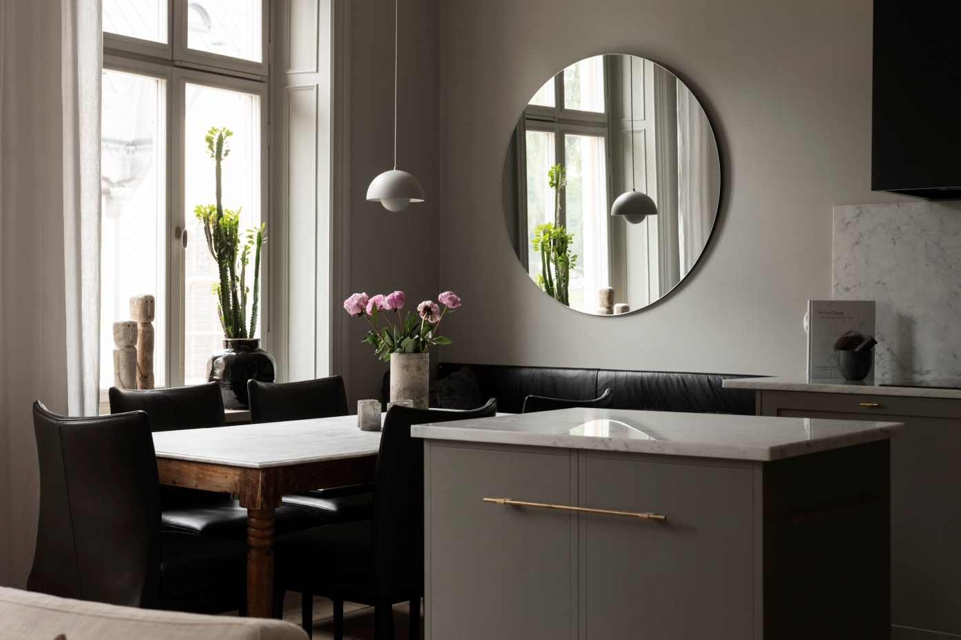 столовая кухонный остров