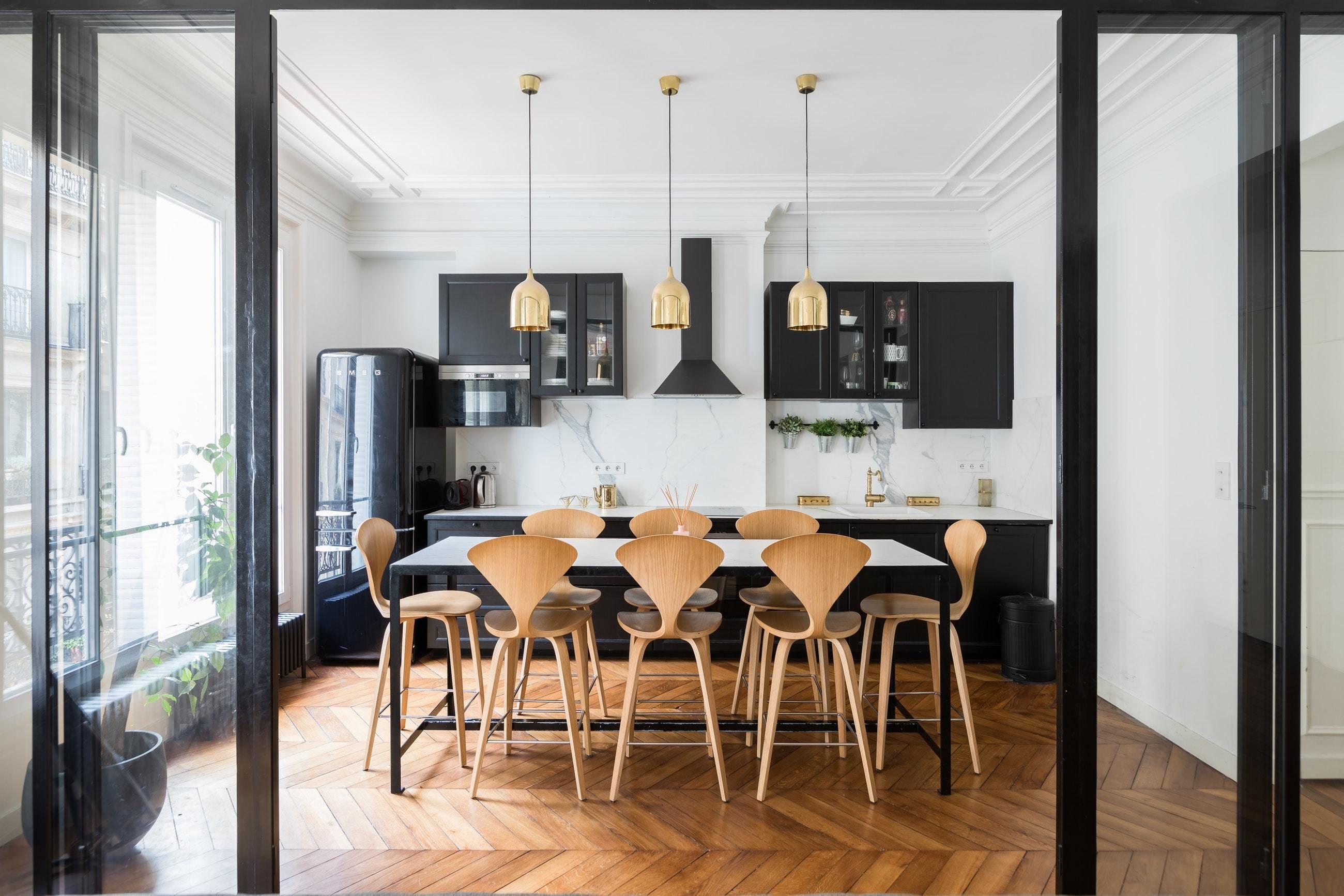 кухня столовая мебель