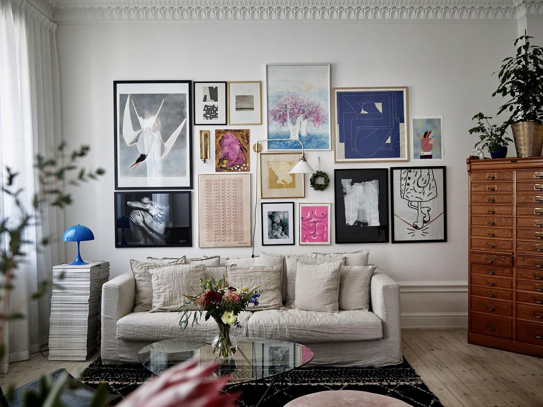 гостиная галерея