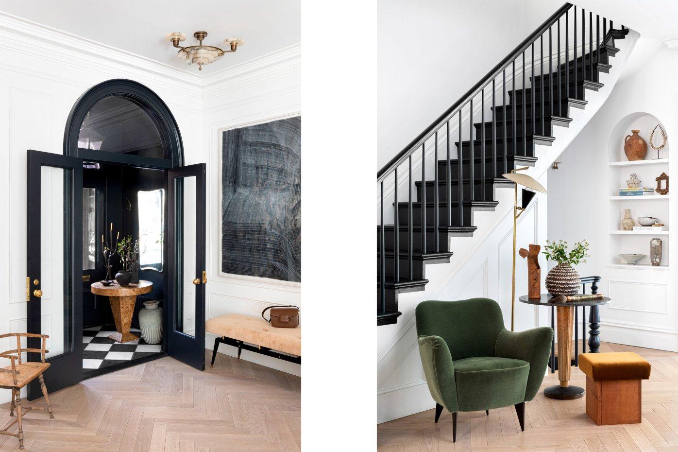 прихожая дверь лестница ниша