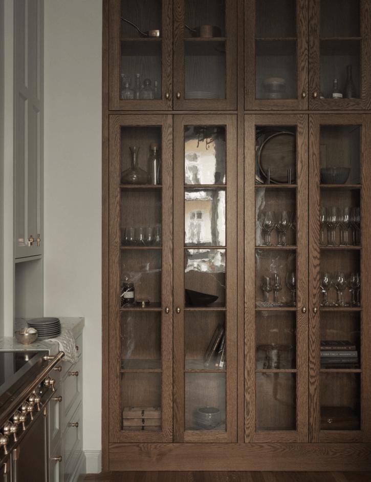 кухонная мебель буфет витрина посуда сервант шкаф