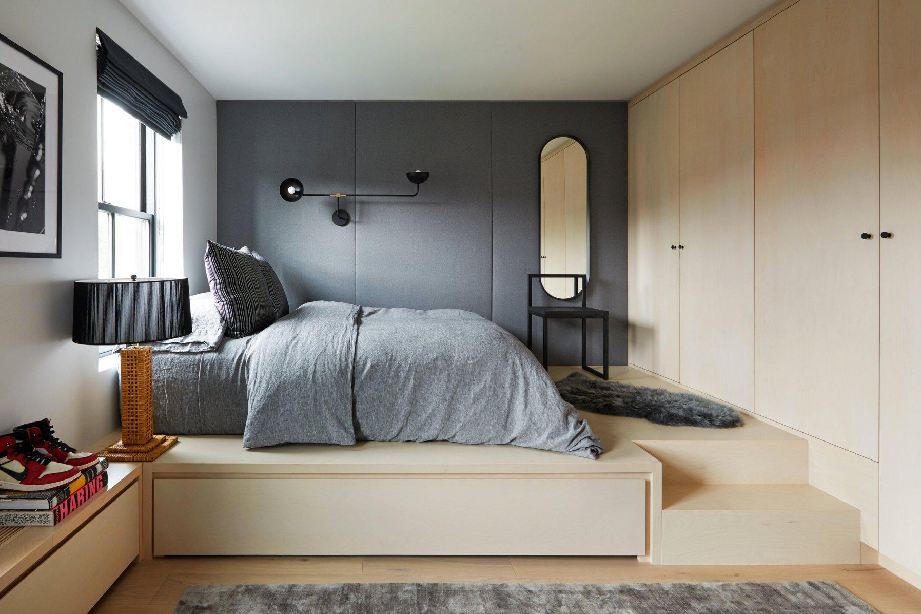 детская комната подиум кровать