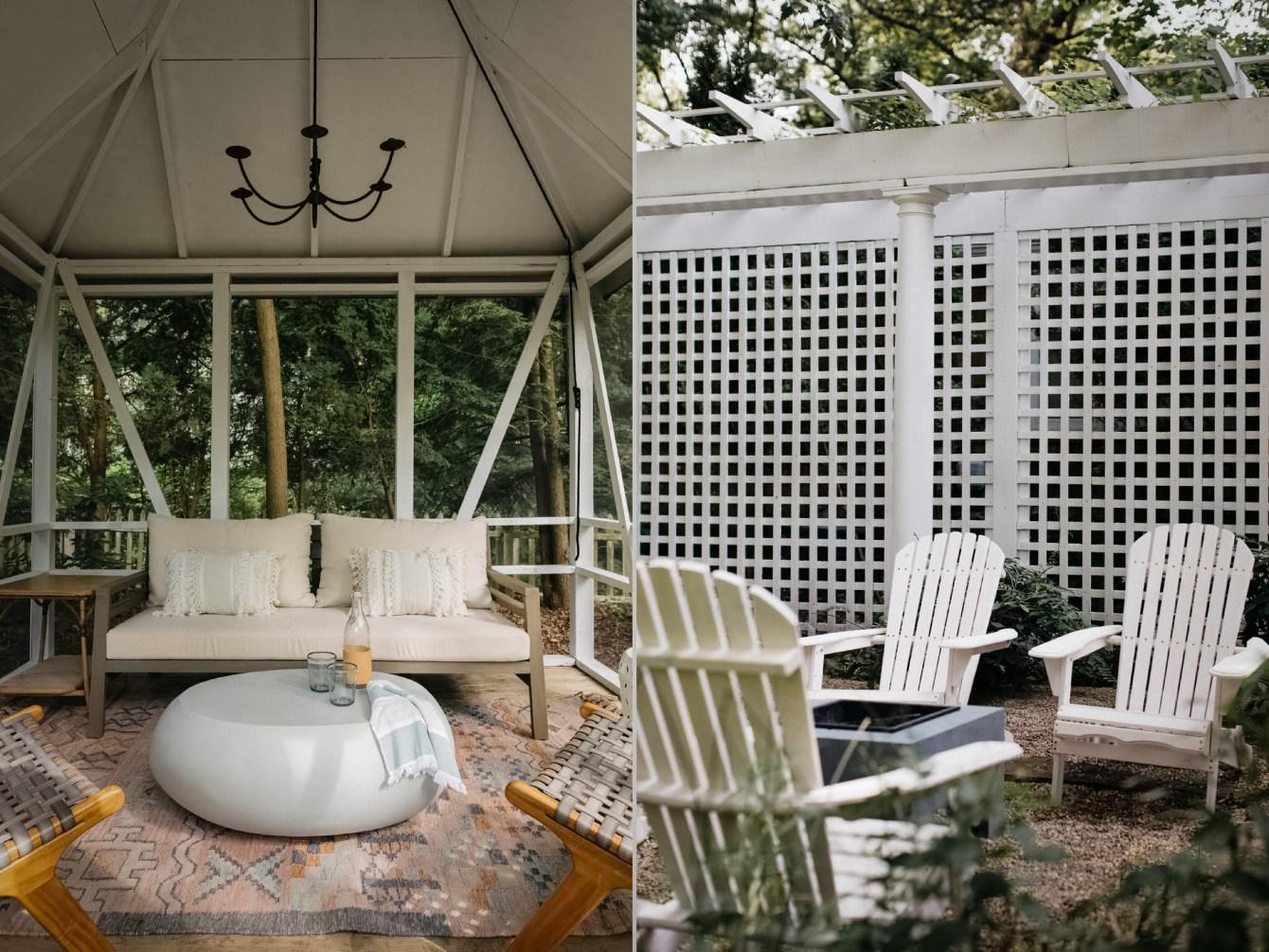 беседка патио садовая мебель