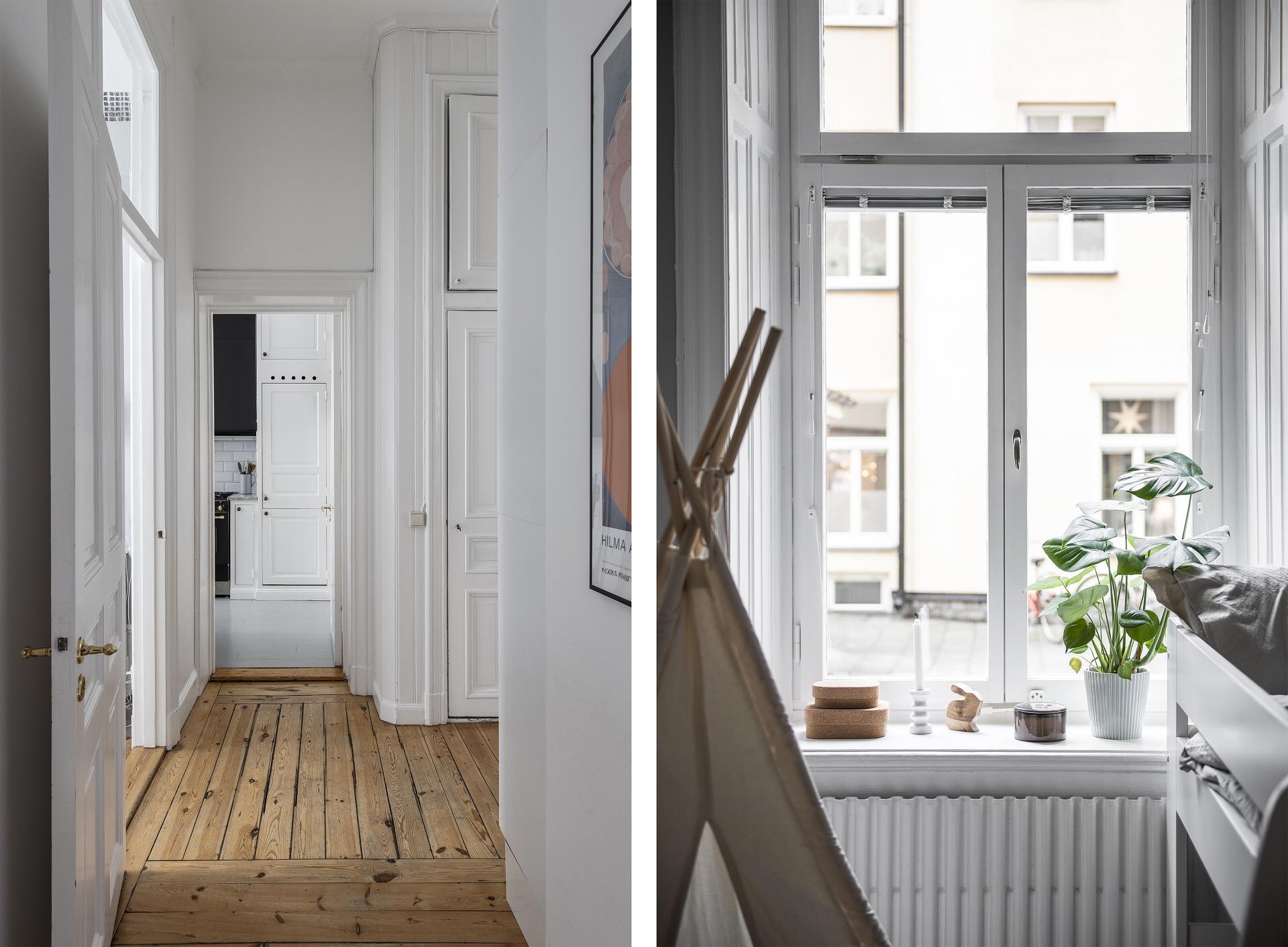 окно фрамуга коридор
