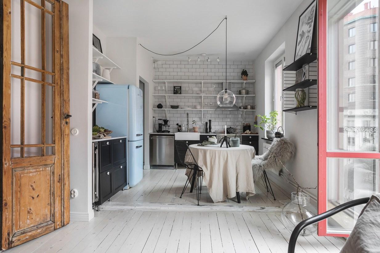 квартира 40 квм кухня