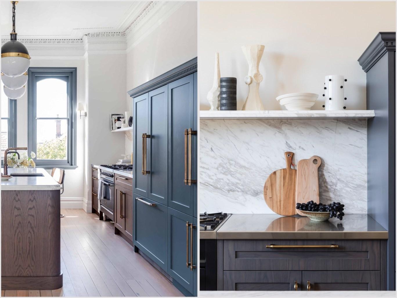 Дом в Австралии кухонная мебель шкаф полки
