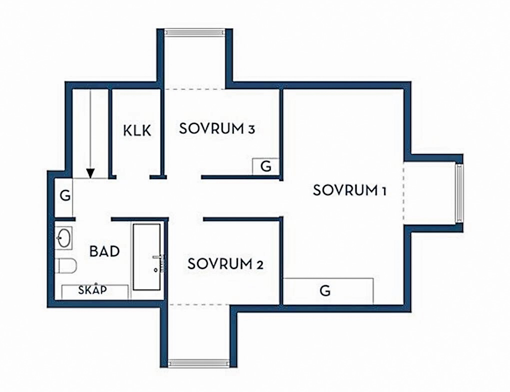 140 sqm floor plan 2