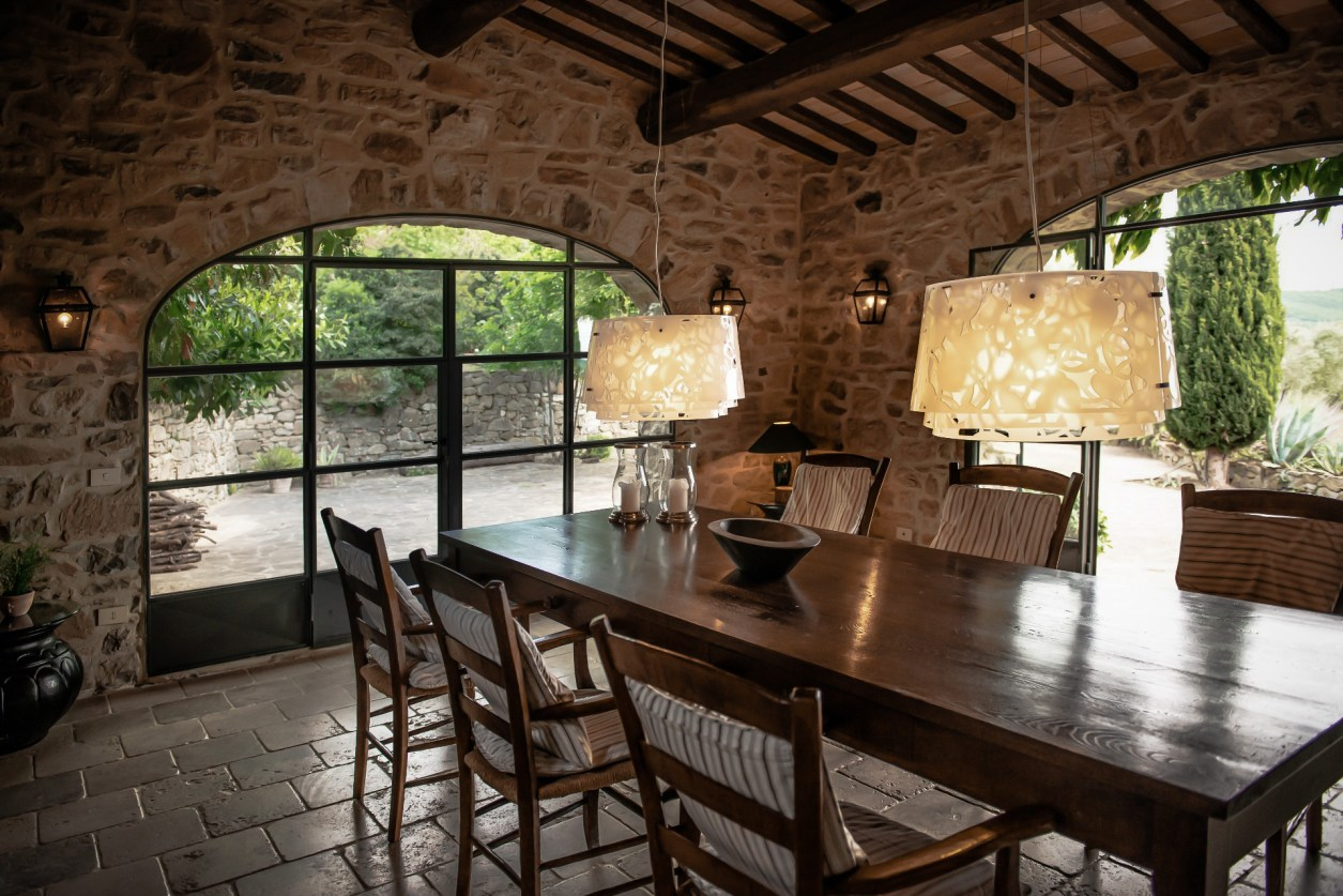 stone veranda