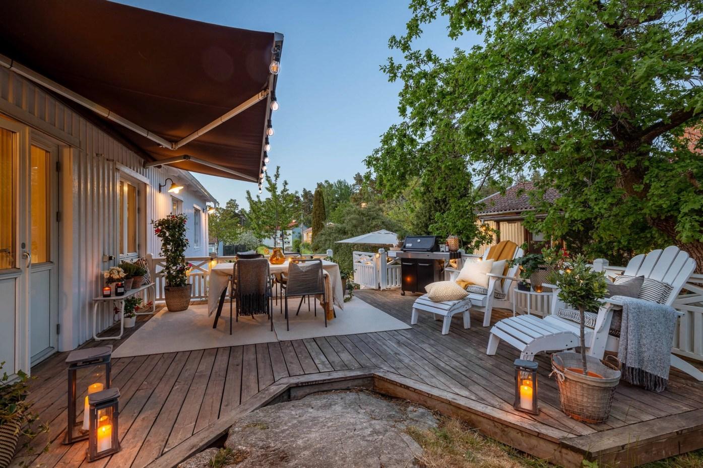 house terrace