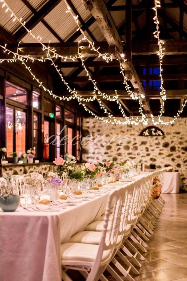Guirlande lumineuse | Domaine d'Ombreuse