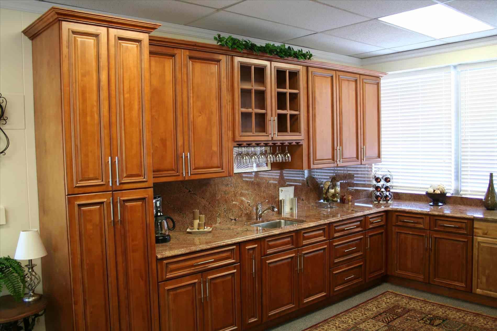 Natural Maple Cabinets Kitchen  Decor Roni Young  Luxury