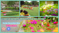 Creative Gardens and garden decor