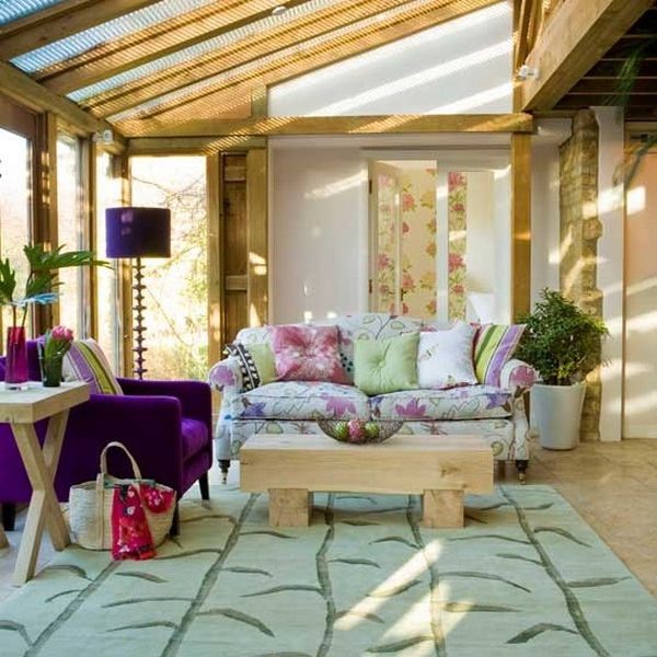 15 Suggestions And Ideas For Furnishing Winter Garden And Veranda