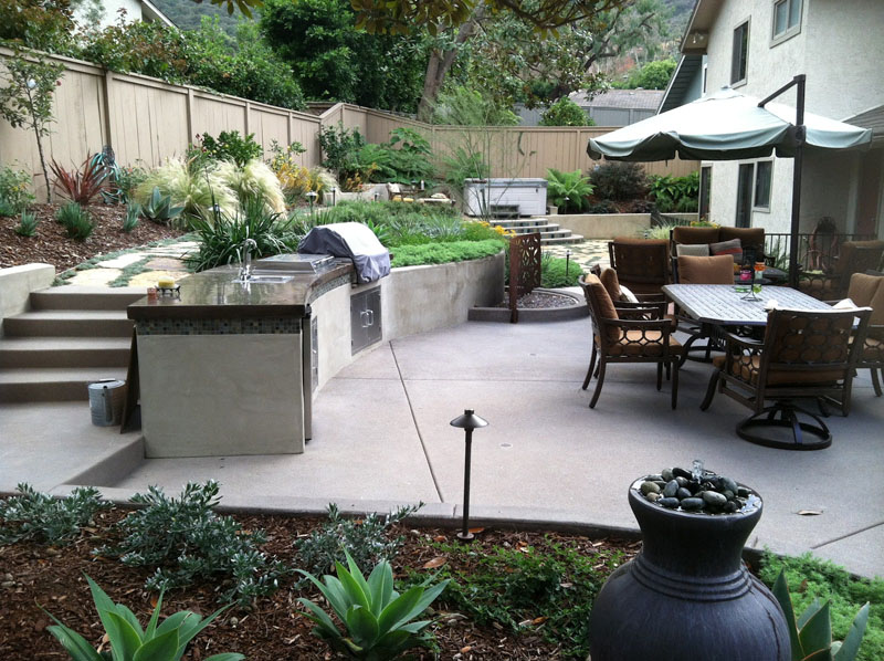 patio layout ideas