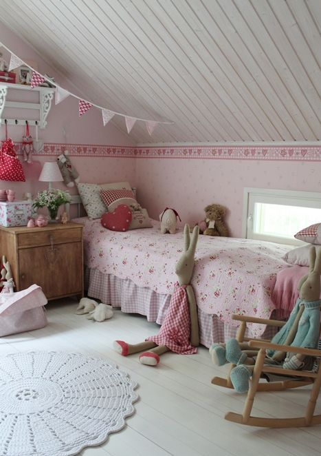 Thirty Cozy Attic Kids Rooms And Bedrooms  Decor10 Blog