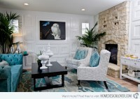Turquoise Living Room Set - Home Design