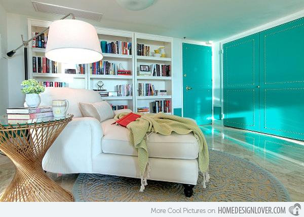 15 Scrumptious Turquoise Living Room Ideas  Decor10 Blog