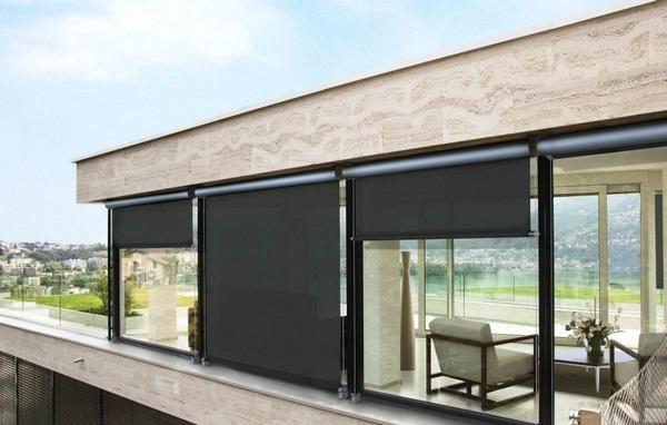 Blinds patio roof ideas modern sunscreen
