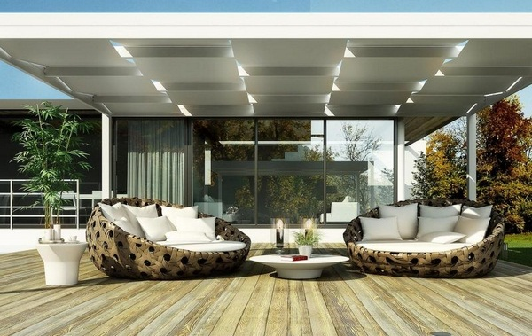 Sunscreen roof of fabric cover ideas