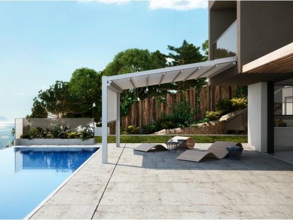Sunscreen roof practical design ideas