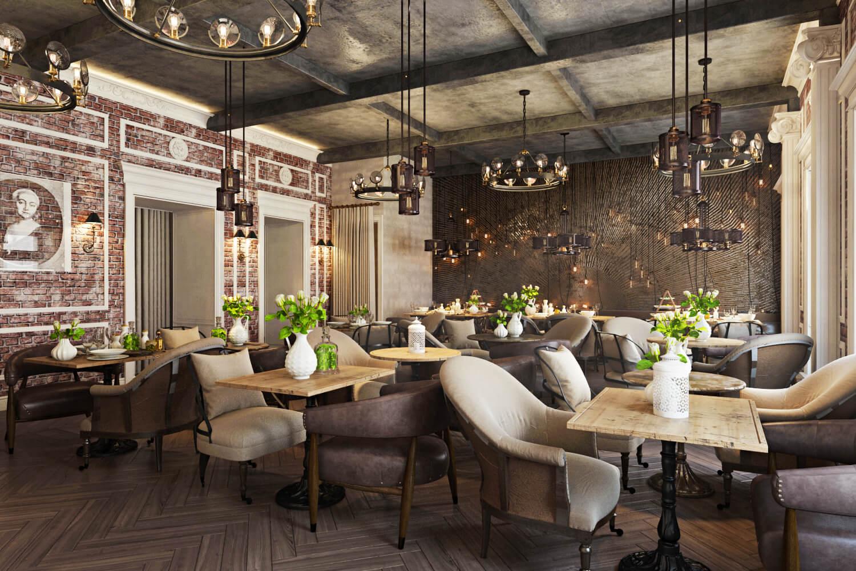 Stunning Restaurant Interior Design The Chic Of Original Decor10 Blog